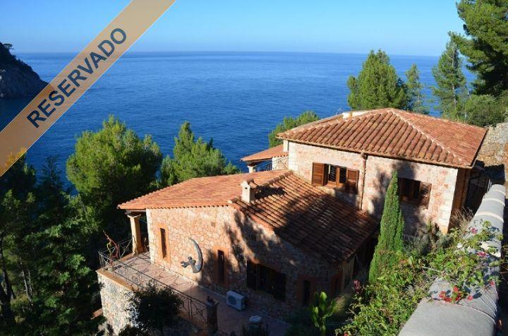 Villa con aceso directo al mar y apartamento de invitados for Www dreamhomes com