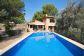 Amplia villa con piscina cerca del mar en Cala Tuent