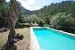 Casa de piedra con piscina y garaje doble en Deià