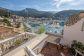 Acogedora casa de pueblo con terraza y maravillosas vistas al puerto en Port de Sóller