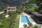 Impresionante finca de piedra en zona privada y con piscina en las laderas de Sóller