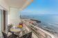 Ático en primera línea justo en frente de la playa con fantásticas vistas al mar en El Molinar